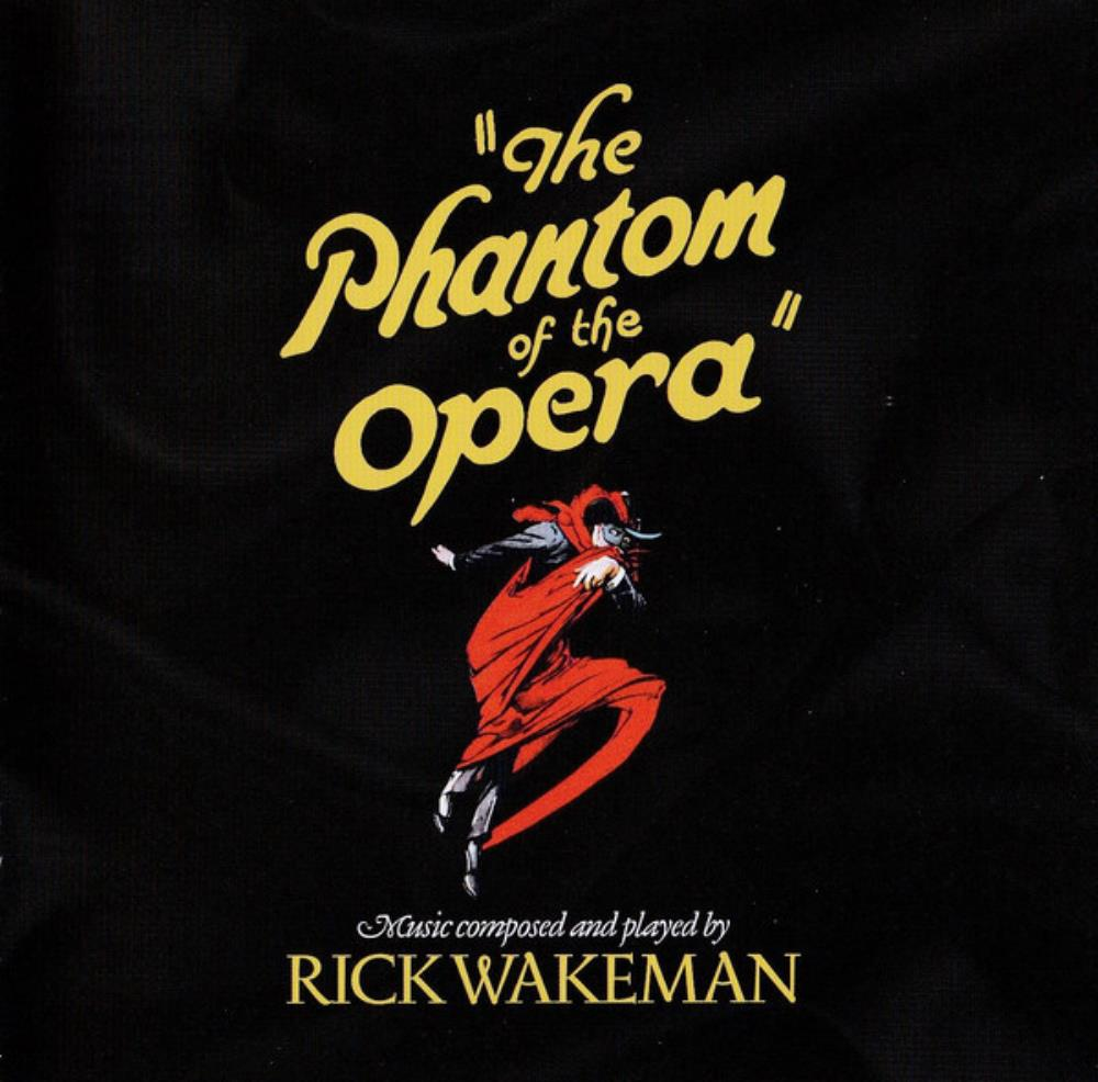 Rick Wakeman - The Phantom Of The Opera (ost) CD (album) cover