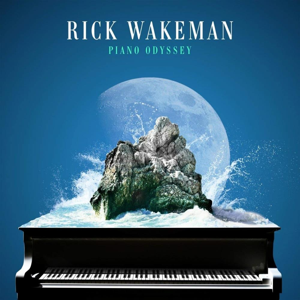 Rick Wakeman - Piano Odyssey CD (album) cover
