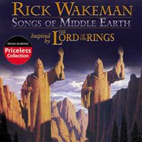Rick Wakeman - Songs Of Middle Earth CD (album) cover