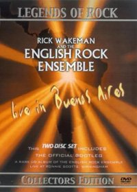 Rick Wakeman - Live In Buenos Aires (with The English Rock Ensemble) DVD (album) cover
