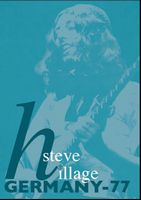 Steve Hillage - Steve Hillage - Germany 77 DVD (album) cover
