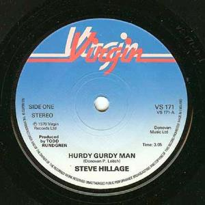 Steve Hillage - Hurdy Gurdy Man CD (album) cover