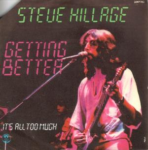 Steve Hillage - Getting Better / It's All Too Much CD (album) cover