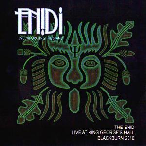 The Enid - Live At King George's Hall Blackburn 2010 CD (album) cover