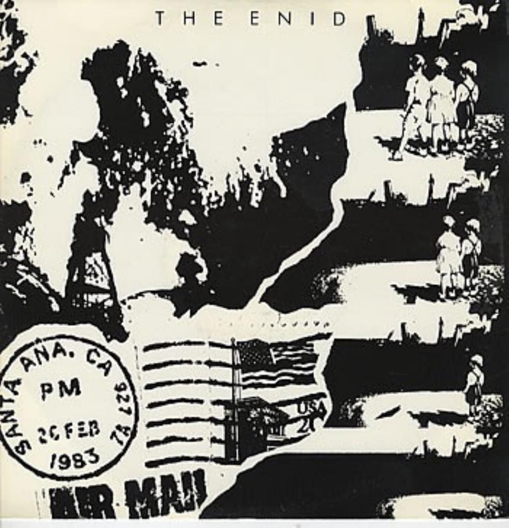 The Enid - And Then There Were None CD (album) cover