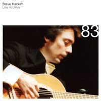 Steve Hackett - Live Archive 83 CD (album) cover