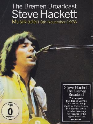 Steve Hackett - The Bremen Broadcast - Musikladen 8th November 1978 DVD (album) cover