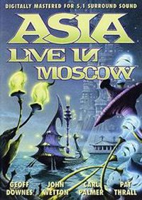 Asia - Live In Moscow 1990 DVD (album) cover