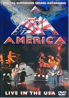 Asia - America: Live In The USA DVD (album) cover