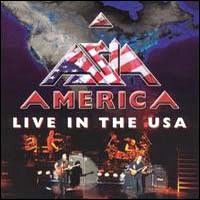 Asia - America - Live In The Usa CD (album) cover