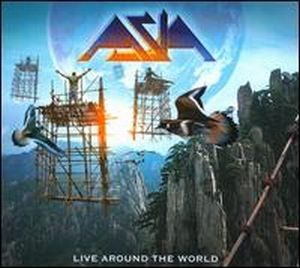 Asia - Live Around The World CD (album) cover