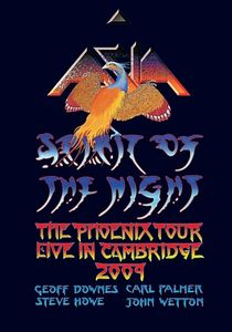 Asia - Spirit Of The Night - The Phoenix Tour - Live In Cambridge 2009 DVD (album) cover