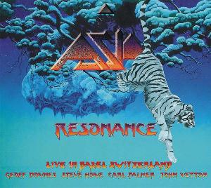 Asia - Resonance (the Omega Tour 2010) CD (album) cover