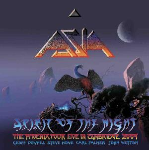 Asia - Spirit Of The Night - The Phoenix Tour Live In Cambridge 2009 CD (album) cover