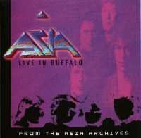 Asia - Live In Buffalo CD (album) cover
