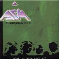 Asia - Live In Massachusetts 83 CD (album) cover
