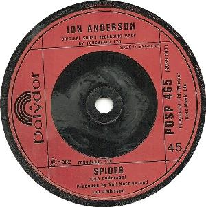 Jon Anderson - All In A Matter Of Time / Spider CD (album) cover