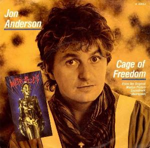 Jon Anderson - Cage Of Freedom CD (album) cover
