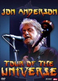 JON ANDERSON - Tour Of The Universe CD (album) cover