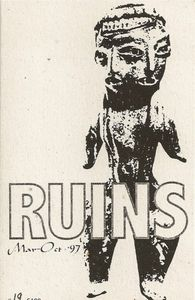 Ruins - March - October 1997 CD (album) cover
