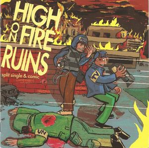 Ruins - Brother In The Wind / Gwodhunqa (split Sp) CD (album) cover