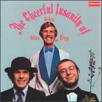 Robert Fripp - The Cheerful Insanity Of Giles, Giles & Fripp CD (album) cover