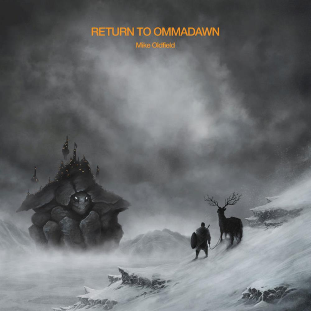 MIKE OLDFIELD - Return To Ommadawn CD album cover