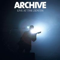 Archive - Live At The Zenith CD (album) cover