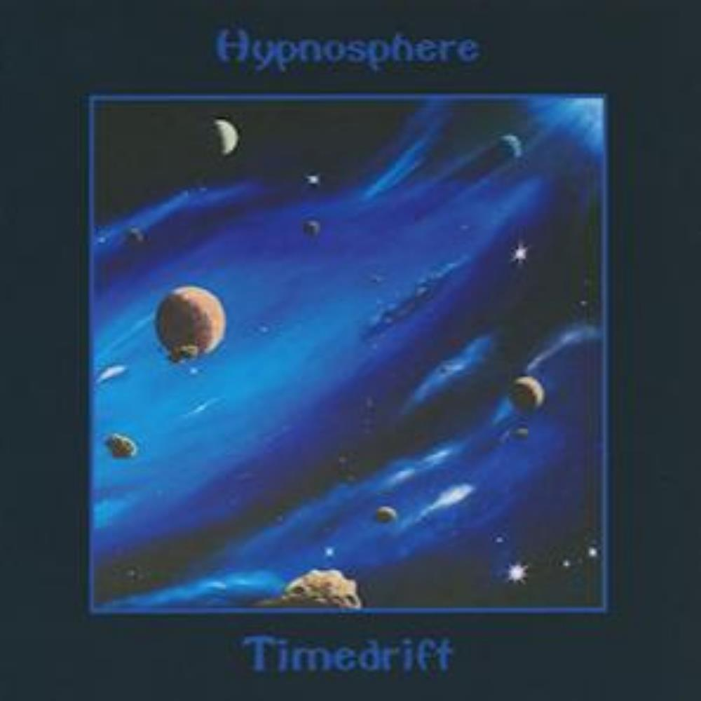 Hypnosphere - Timedrift CD (album) cover