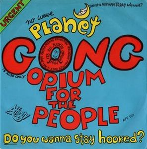 Gong - Opium For The People CD (album) cover