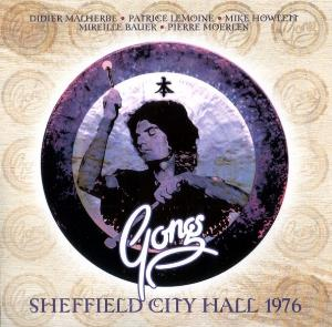 Gong - Sheffield City Hall 1976 CD (album) cover