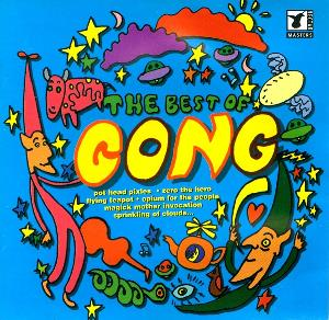 Gong - The Best Of Gong CD (album) cover