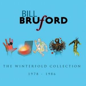 Bill Bruford - The Winterfold Collection 1978 - 1986 CD (album) cover