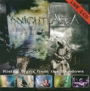 Knight Area - Rising Signs From The Shadows CD (album) cover