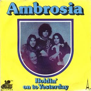 AMBROSIA - Holdin' On To Yesterday CD album cover