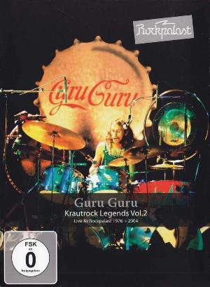 Guru Guru - Live At Rockpalast 1976 And 2004 DVD (album) cover
