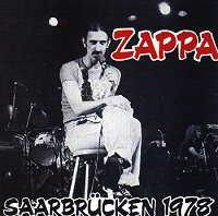 Frank Zappa - Saarbrucken 1978 CD (album) cover