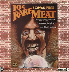 Frank Zappa - Rare Meat - Early Productions Of Frank Zappa 12'' CD (album) cover
