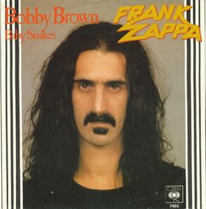 Frank Zappa - Bobby Brown CD (album) cover