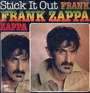 Frank Zappa - Stick It Out CD (album) cover