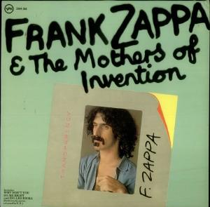 Frank Zappa - Frank Zappa & The Mothers Of Invention CD (album) cover