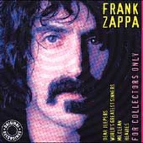 Frank Zappa - For Collectors Only CD (album) cover