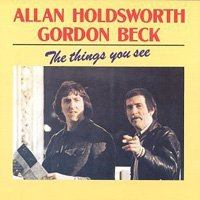 Allan Holdsworth - The Things You See (with Gordon Beck) CD (album) cover