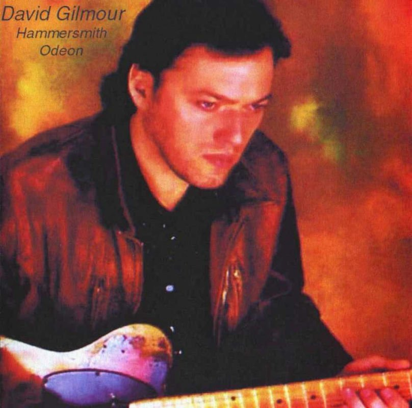 David Gilmour - Hammersmith Odeon CD (album) cover