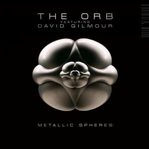 David Gilmour - The Orb & David Gilmour - Metallic Spheres CD (album) cover