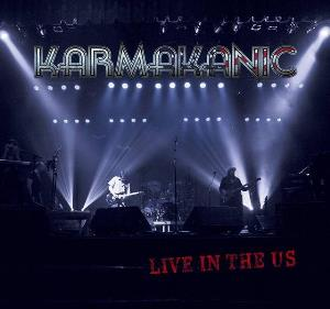 KARMAKANIC - Live In The Us CD album cover