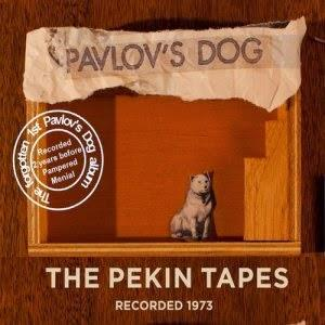 Pavlov's Dog - The Pekin Tapes CD (album) cover