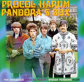 Procol Harum - Pandora's Box CD (album) cover