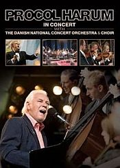 Procol Harum - In Concert With The Danish National Concert Orchestra And Choir DVD (album) cover