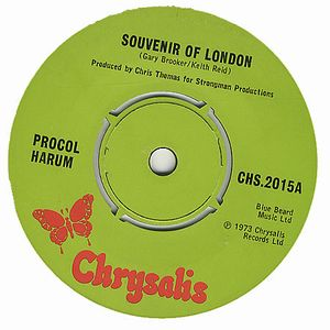 Procol Harum - Souvenir Of London CD (album) cover